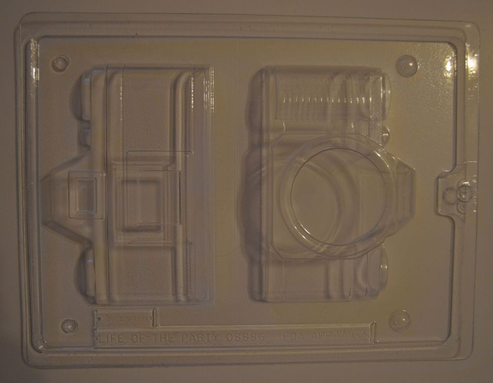 3D Chocolate Camera Mould