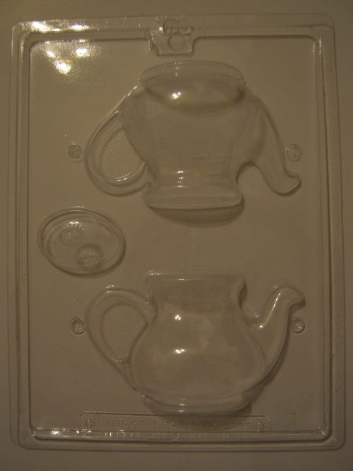3D Teapot Chocolate Mould