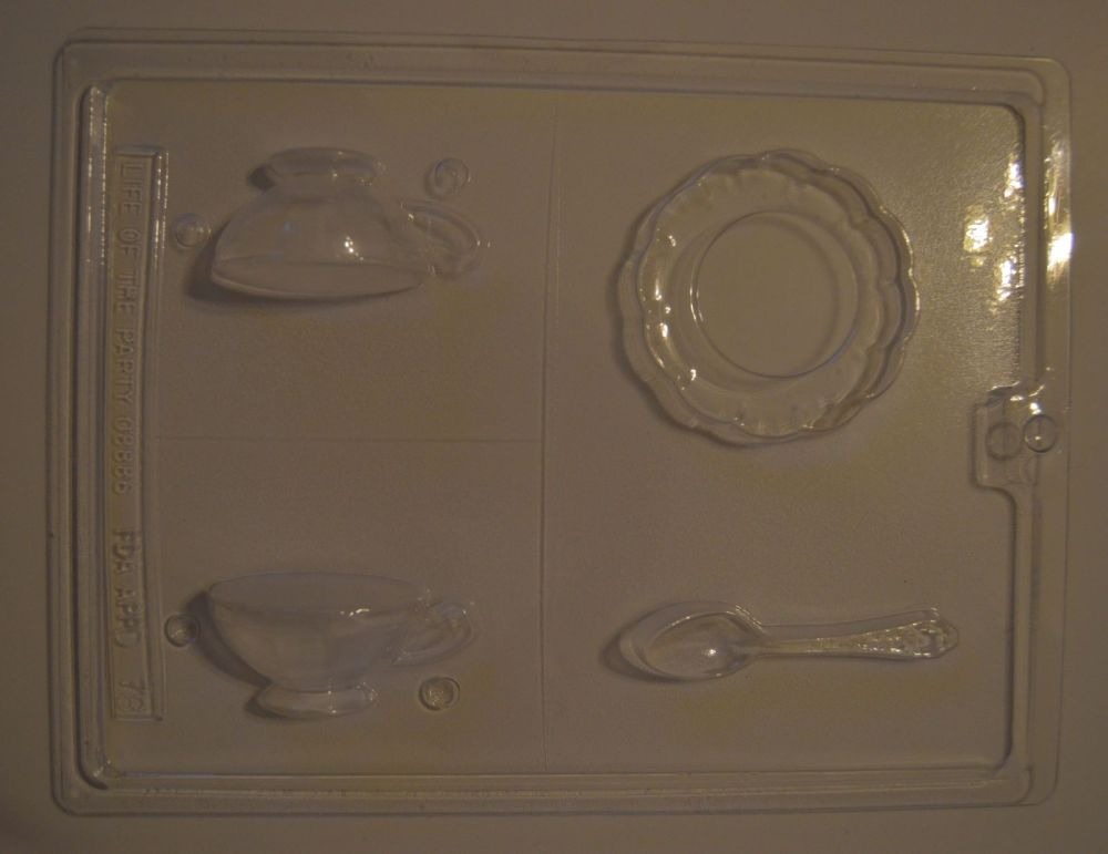 Chocolate Tea Party Mould Set