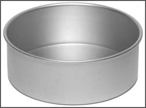 Alan Silverwood Solid Base 7 inch Cake Pan