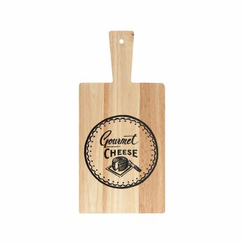 Creative Tops Gourmet Cheese Rubberwood Paddle Board
