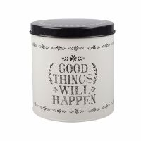 Creative Tops Stir It Up Good Things Storage Tin White