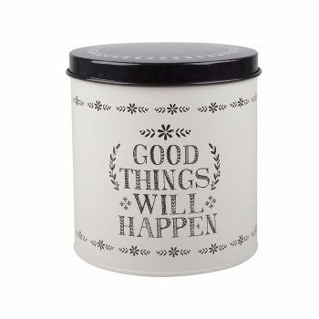 Creative Tops Stir It Up Good Things Storage Tin White