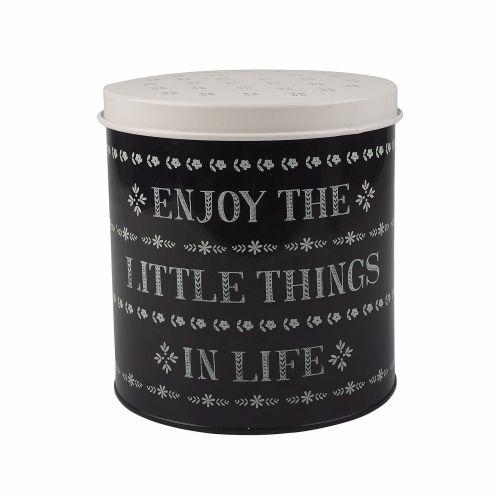 Creative Tops Stir It Up Little Things Storage Tin Black