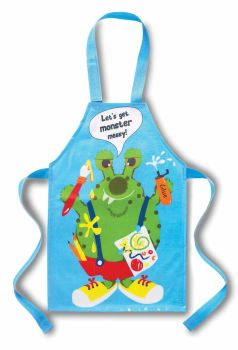 Cooksmart Kids Monster PVC Apron