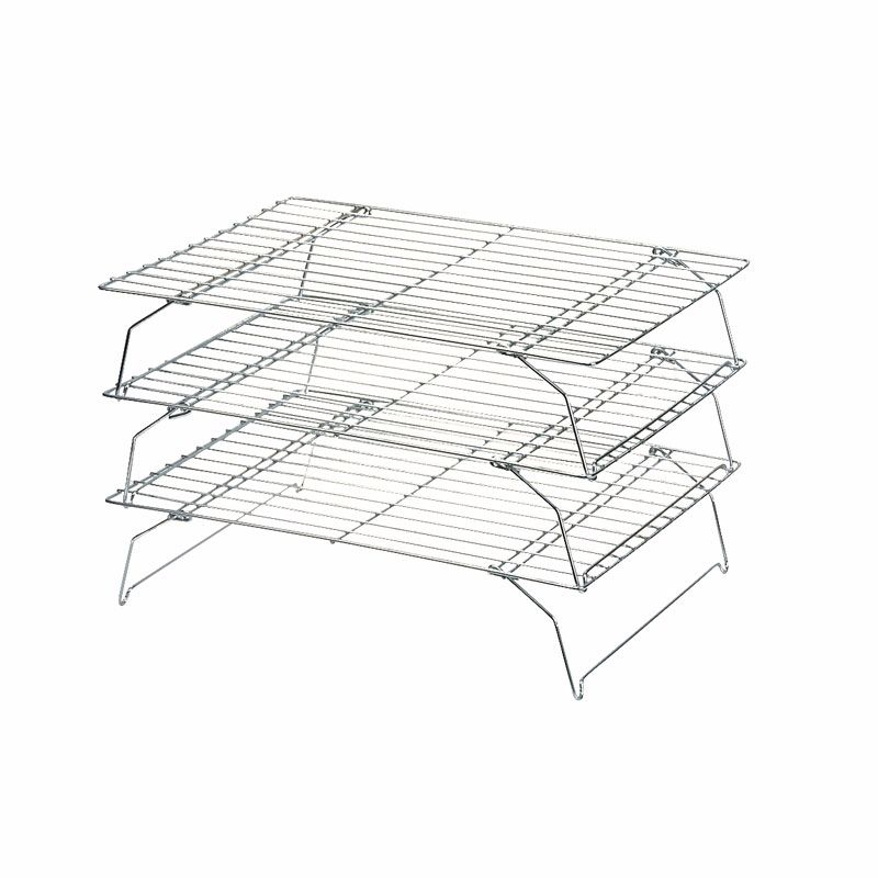 Dexam Stackable Cooling Racks, 34x25cm, Set of 3