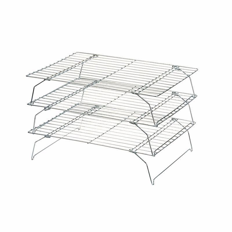 Dexam Stackable Cooling Racks, 34x25cm, Set of 3