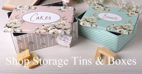 Shop Storage Tins & Boxes
