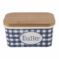 Katie Alice Vintage Indigo Large Butter Dish