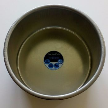 "Tinplate 6"" Deep Round Cake Pan"