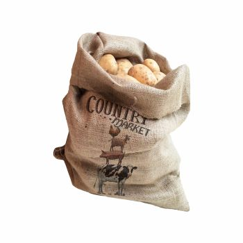 Creative Tops Farmers Market Pack Of 2 Hessian Sacks