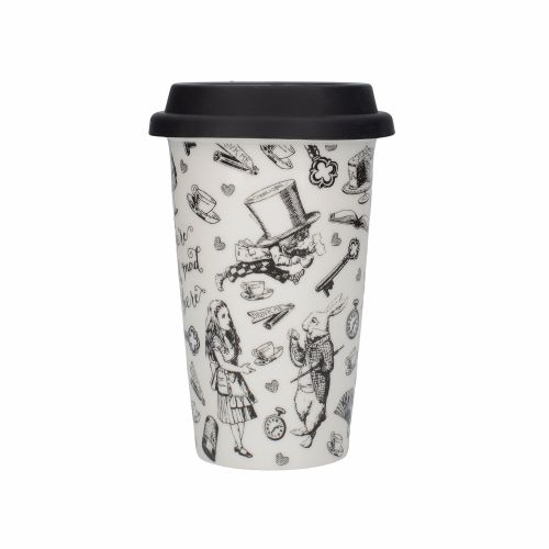 Victoria And Albert Alice In Wonderland Travel Mug