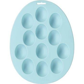 Wilton 12 Cavity Silicone Mini Egg Treat Mould