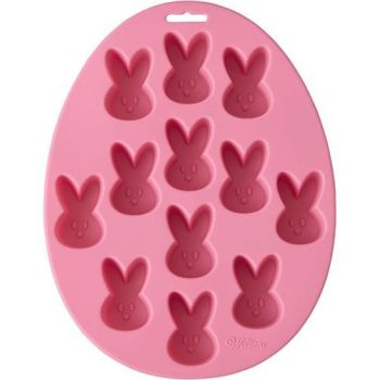 Wilton 12 Cavity Silicone Easter Bunny Treat Mould