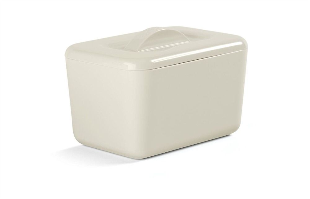 Zeal Classic Melamine Insulated Butter Dish with Lid Cream