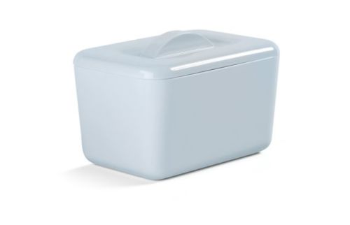 Zeal Classic Melamine Insulated Butter Dish with Lid Duck Egg Blue
