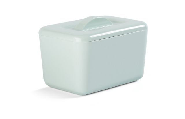 Zeal Classic Melamine Insulated Butter Dish with Lid Sage Green