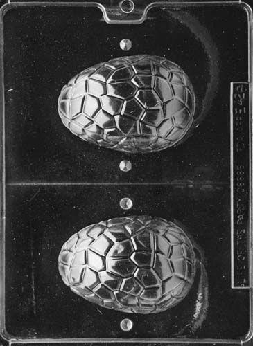 3D Medium Cracked Easter Egg Mould