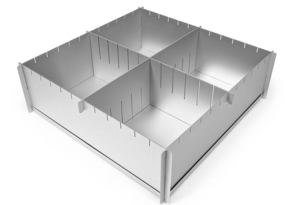 Alan Silverwood 4inch x 12inch Multi Size Foldaway Cake Pan