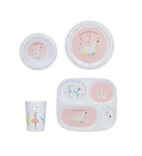 Creative Tops Melamine Kids Once Upon A Time Dinner Set