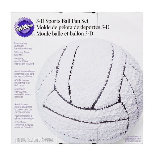Wilton 3D Sports Ball Pan Set