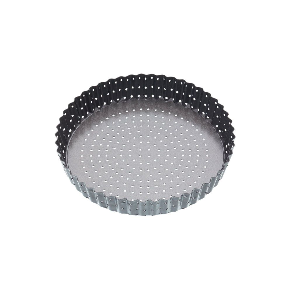 MasterClass Crusty Bake Non-stick Fluted Round 25cm Quiche Tin