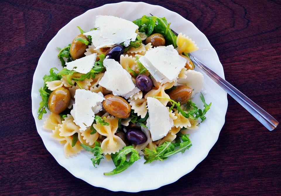 Olive and Feta Pasta Salad