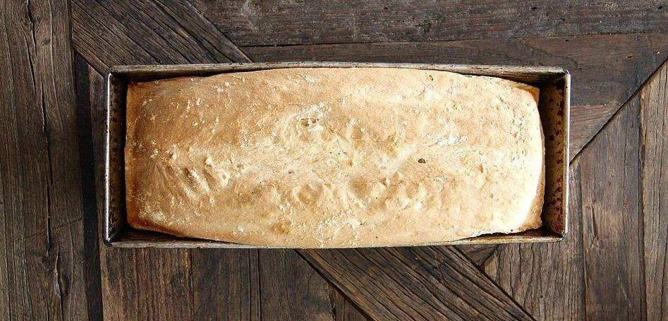 Loaf in loaf pan