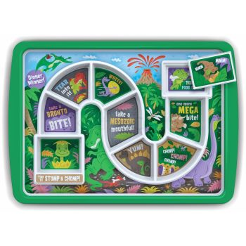 Fred Dinner Winner Dino Time Melamine Dinner Plate