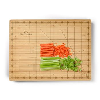 Fred The Obsessive Chef Bamboo Chopping Board