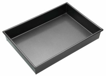 MasterClass Non-Stick 35cm x 24cm Rectangular Deep Cake Pan