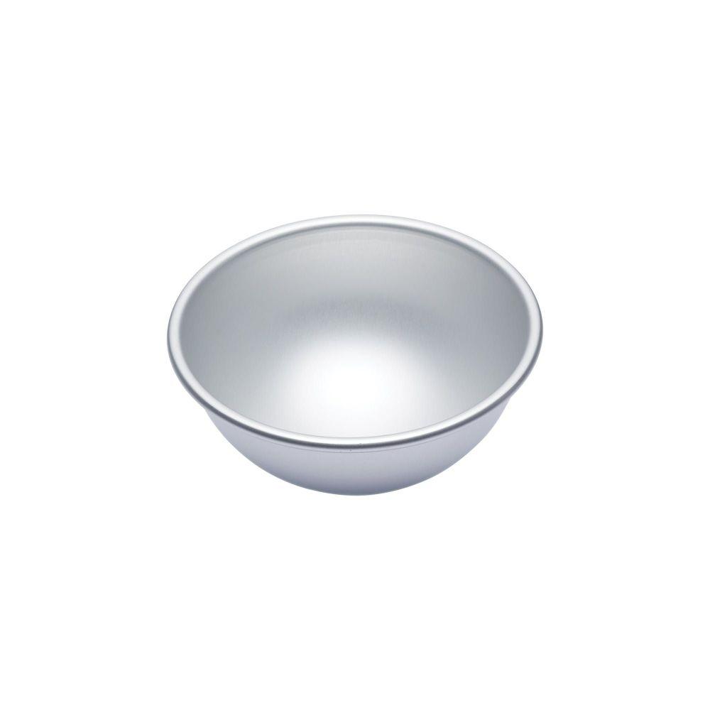 MasterClass Silver Medium Anodised 15cm Hemisphere Cake Pan