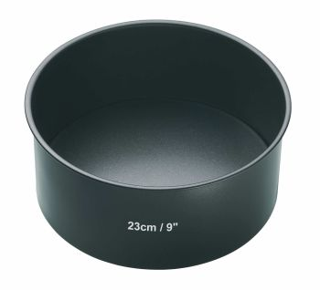 KitchenCraft MasterClass 9 inch Non-Stick Loose Base Deep Cake Tin