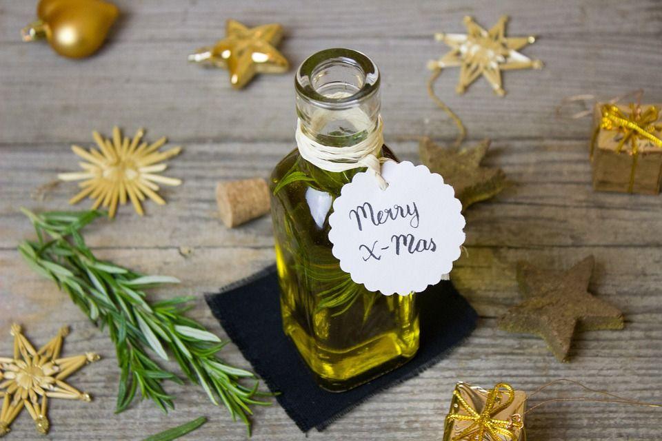 Olive oil christmas present