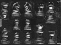 Chocolate Chess Pieces Mould