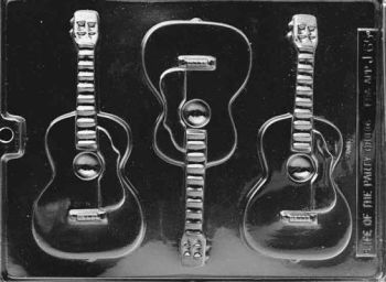 Chocolate Guitar Mould