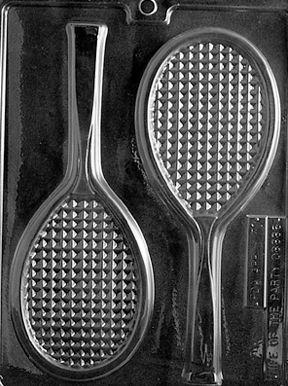 Chocolate Tennis Racket Mould