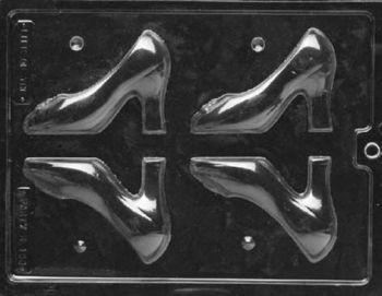 9cm High Heeled Shoe Chocolate Mould