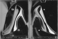 21cm High Heeled Shoe Chocolate Mould - Set of 2 Halves