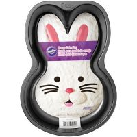 Wilton Non Stick Easter Bunny Face Cake Pan