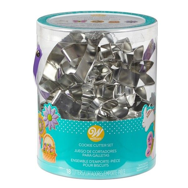 Wilton 18 Piece Easter Cookie Cutter Set