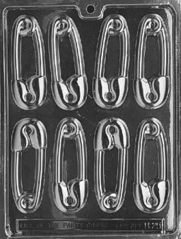 Safety Pin Chocolate Mould