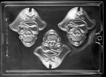 Pirate Face Chocolate Mould