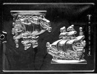 Pirate Ship Chocolate Mould