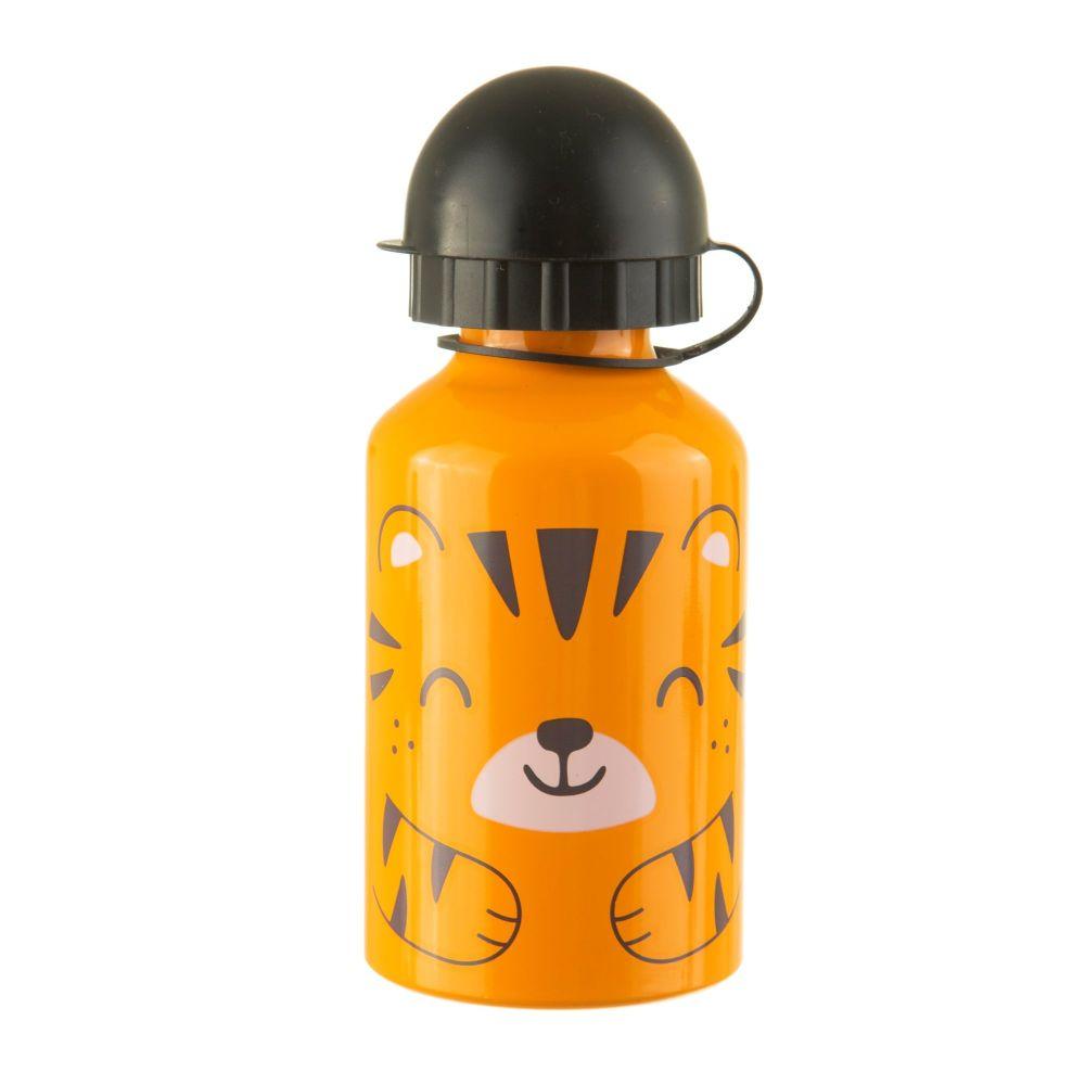 Tiger Kids Metal Water Bottle
