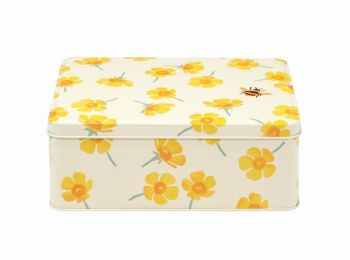 Emma Bridgewater Buttercup Rectangular Storage Tin