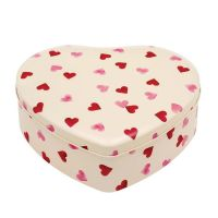 Emma Bridgewater Pink Hearts Large Heart Shaped Storage Tin