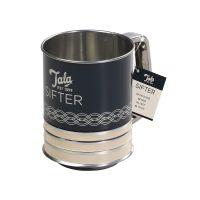 Tala Indigo and Ivory Flour Sifter