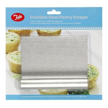Tala Stainless Steel Non Stick Pastry Scraper