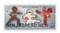 Fred Ninja Bread Men Cookie Cutters